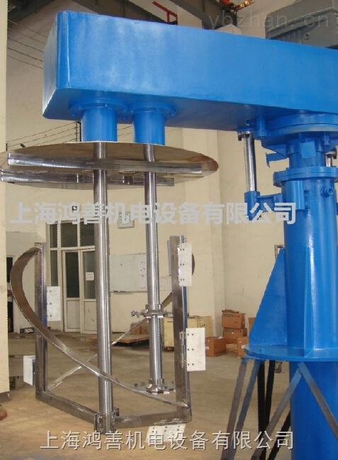 HSJ-液压升降双轴搅拌机