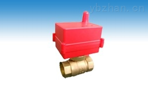 CWX-無線熱計量閥門 銅閥體無線溫控閥遠程控制閥球閥