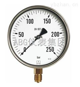 彈簧管壓力表
