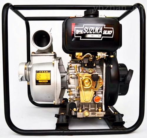 移动柴油抽水泵