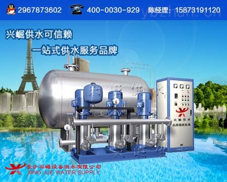 江西箱式供水设备