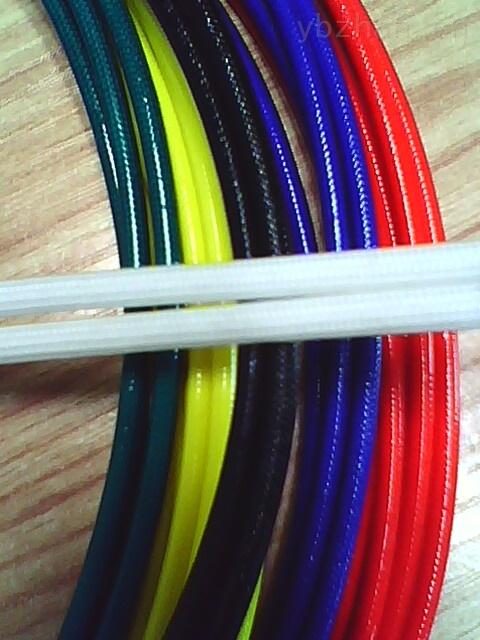 供应彩色耐压4KV7KV内纤外胶高压玻纤管
