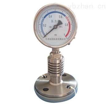 耐高温型隔膜压力表