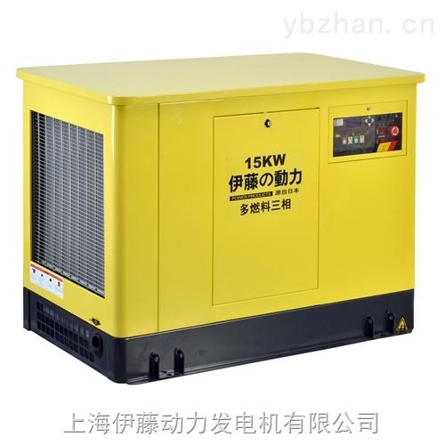 YT15KW三相汽油发电机价格