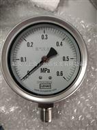 不锈钢弹簧管压力表YTF-100H