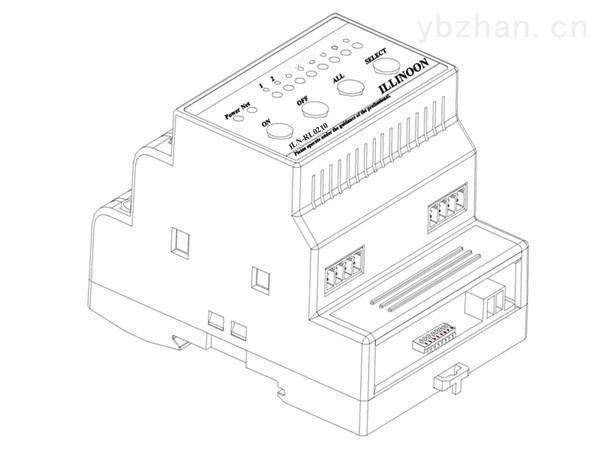 ILN-RL0210-智能继电器模块2路10A智能开关模块智能灯光模块