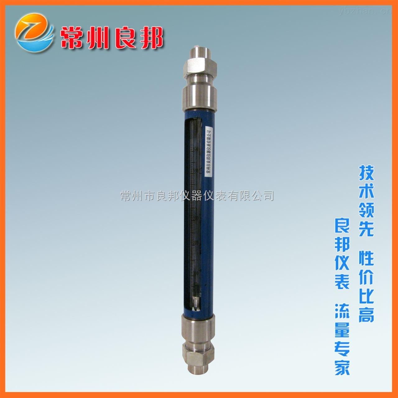 G30-25玻璃转子流量计厂家 304不锈钢接头 膜设备水流量测量