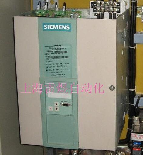 嘉兴西门子6ra70直流调速报F006 欠电压故障维修