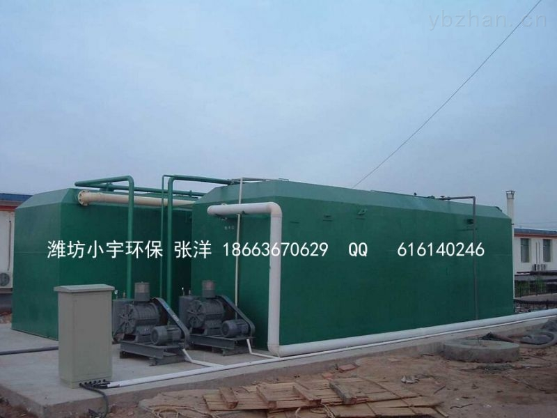 乌鲁木齐地埋式一体化污水处理设备批发