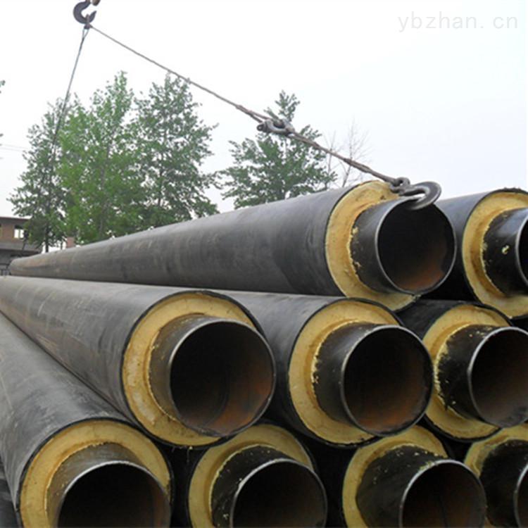 张家口市高温蒸汽直埋保温管施工程序