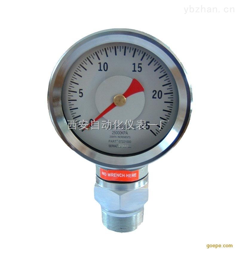 YK-100.YK-150抗震压力表.耐震压力表