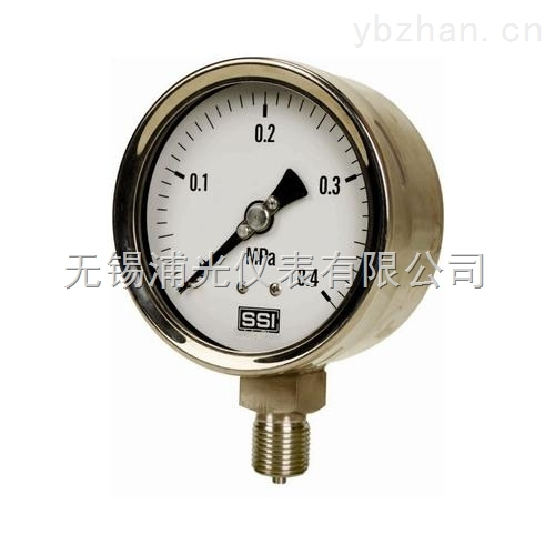 Y-100B-高精度不銹鋼壓力表