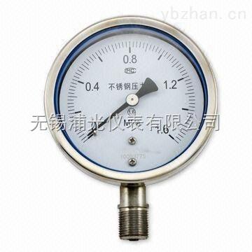 Y-100B-不銹鋼壓力表生產廠家