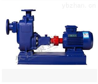 自吸式无堵塞排污泵 ZW50-15-30-3KW卧式污水泵 高效节能