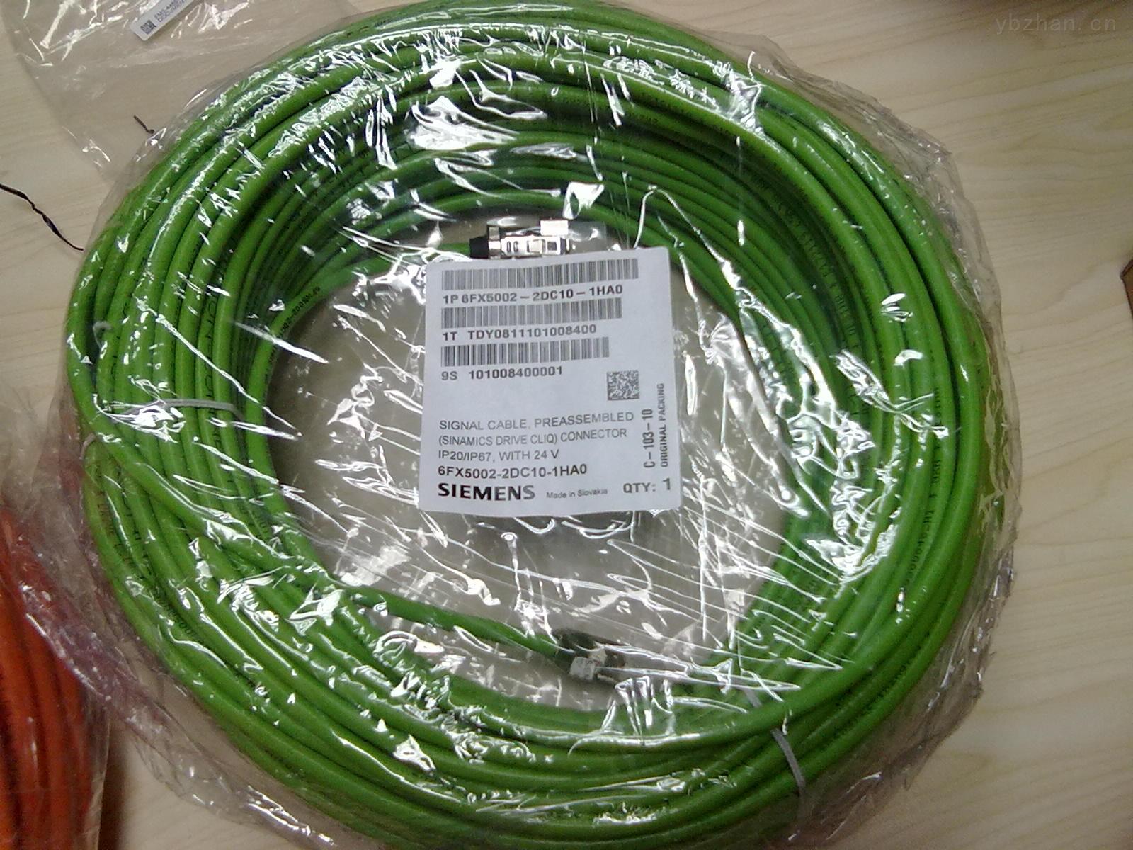 西门子伺服电缆6FX5002-5CA51-1BF0