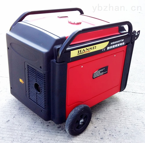汽油静音5KW数码变频发电机
