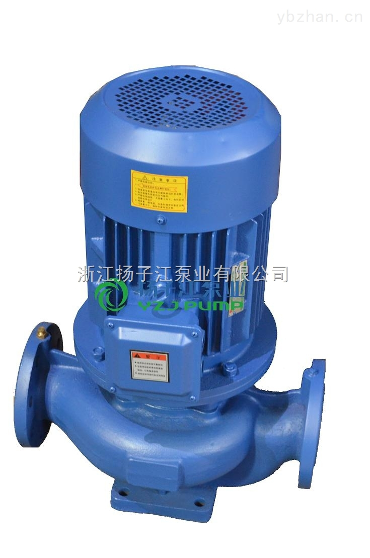 不銹鋼管道泵:ISGB型防爆管道增壓泵