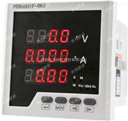 LCD三相式多功能數顯電力儀表