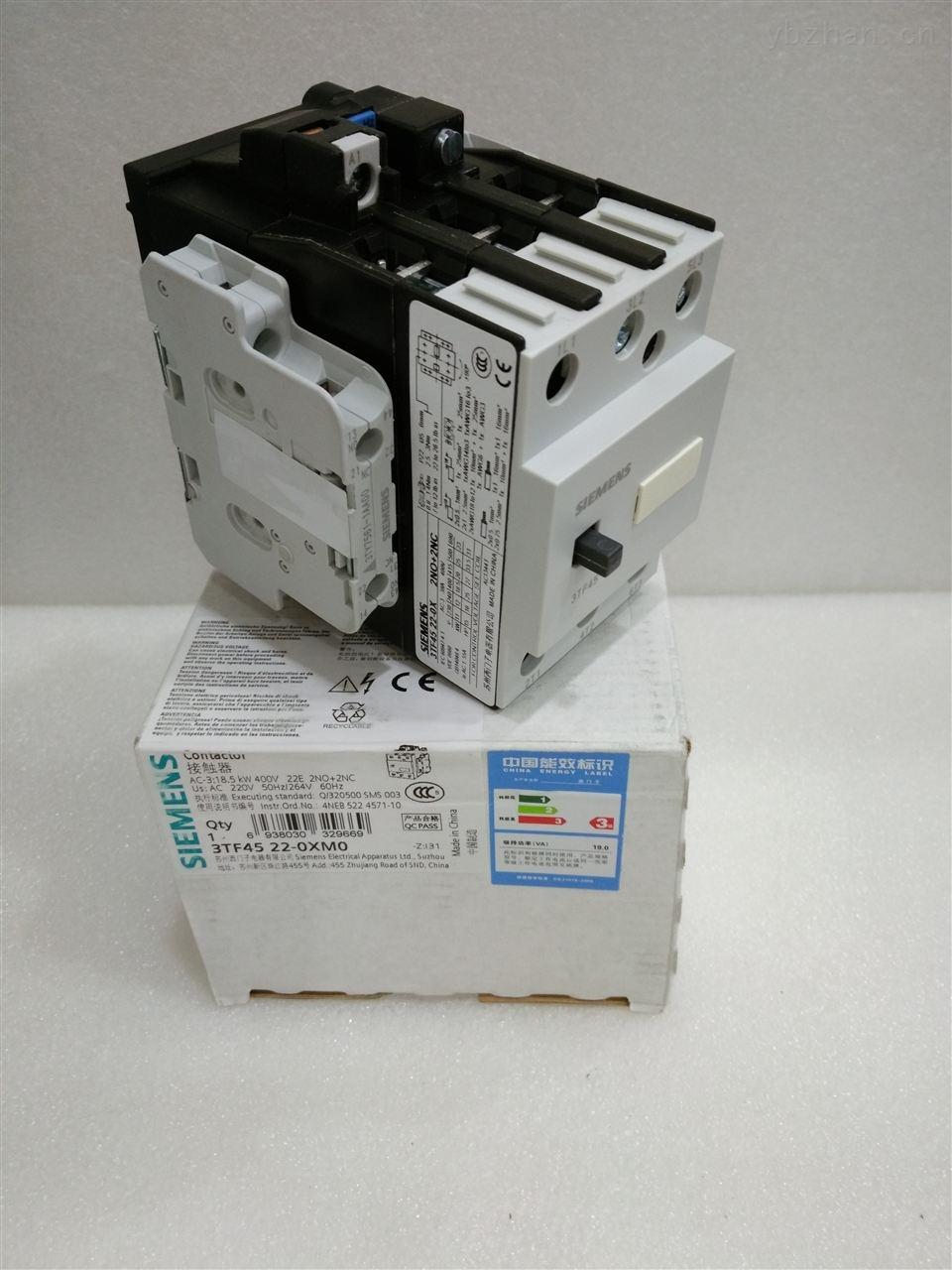 西门子交流接触器3TB4522-0XM0 3TB4522-0XQ0
