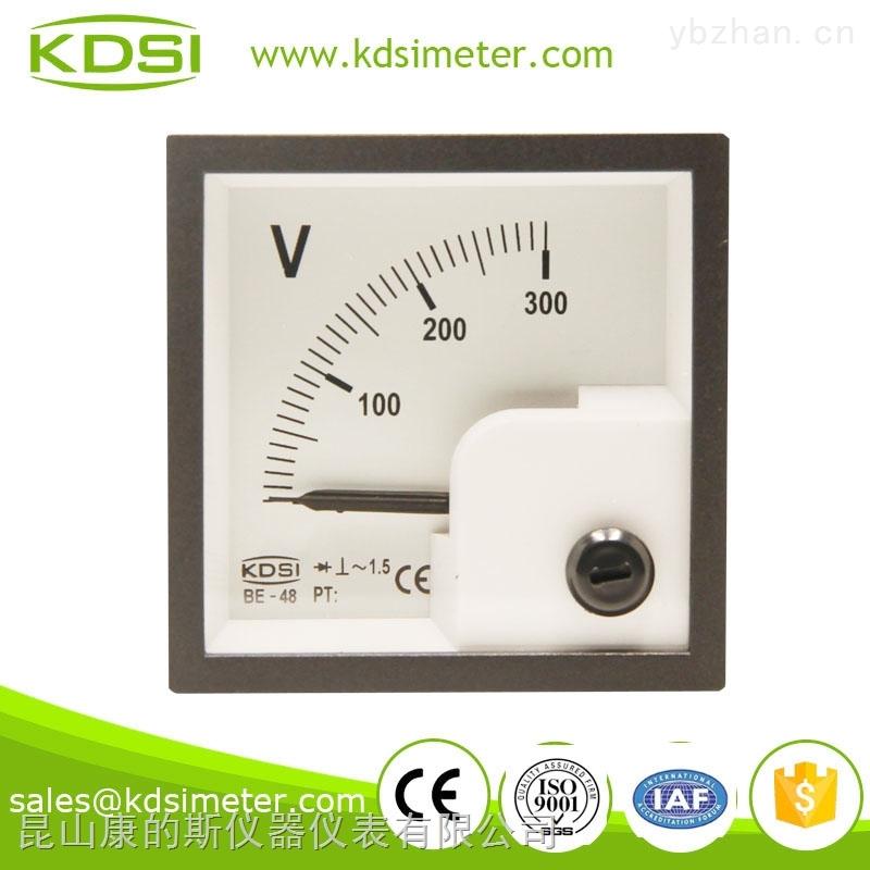 指针式整流型交流电压表