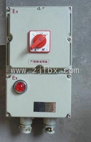 BDZ52防爆断路器