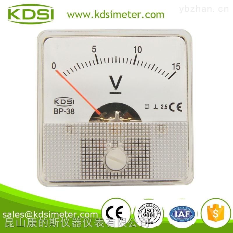 BP-38-指針式直流電壓表 BP-38 DC15V 小型電壓表 超聲波用表 性能穩定