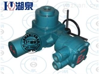 上海湖泉智能型电动执行机构执行头供应