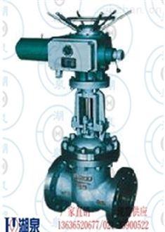 电动法兰式铸钢型闸阀