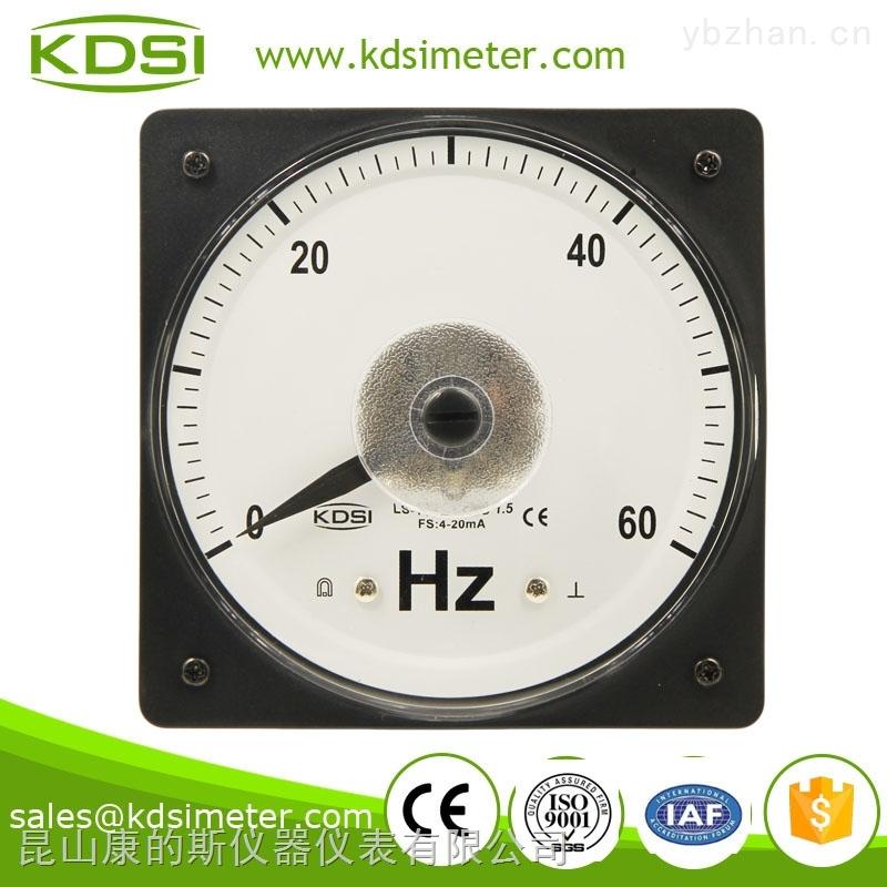 指针式广角度直流电流频率表 LS-110 4-20mA 60HZ