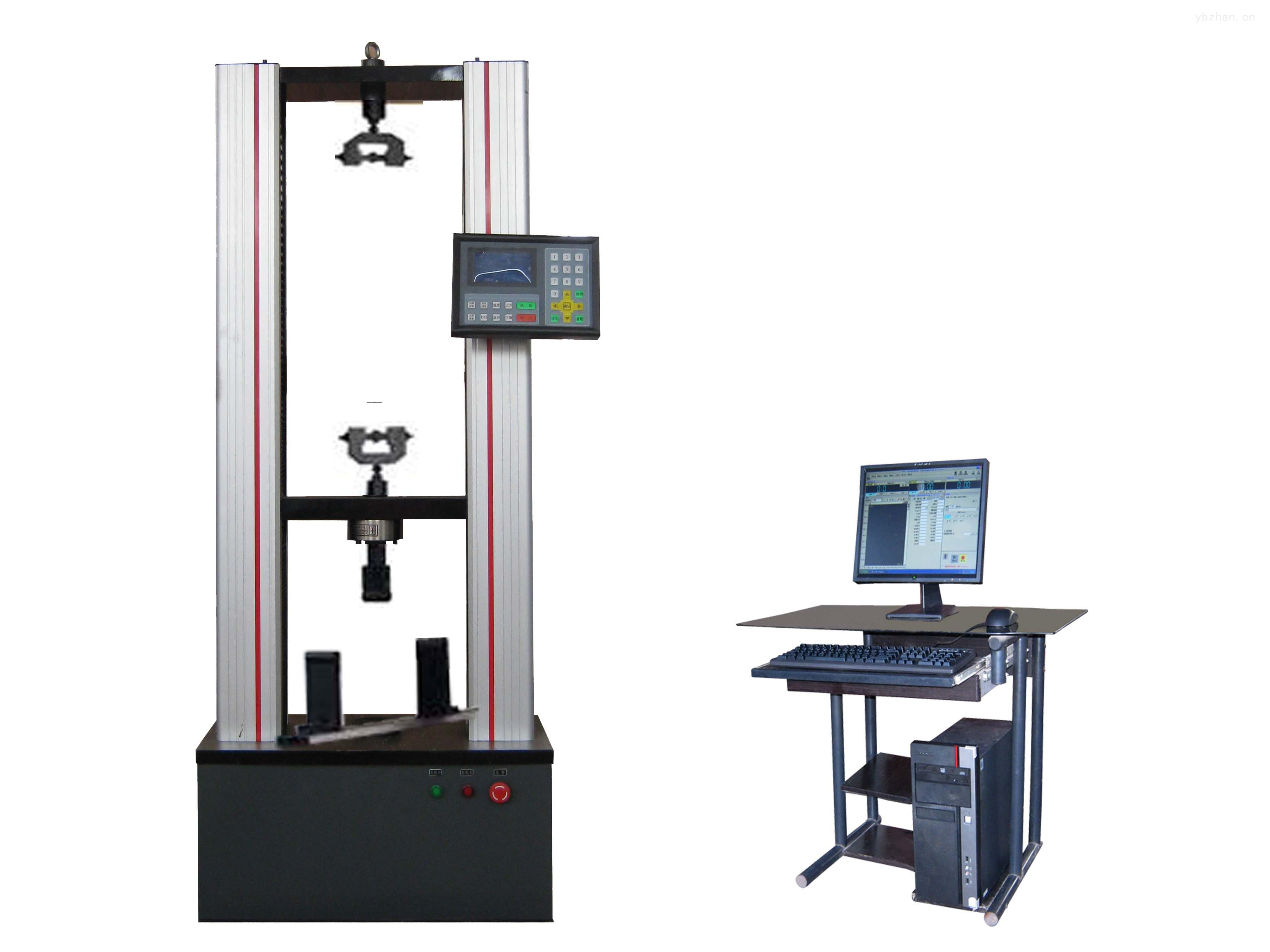 5000N钢带拉力试验机(使用伺服电机 升降速度更稳定 配送手动操作盒 双重保障)