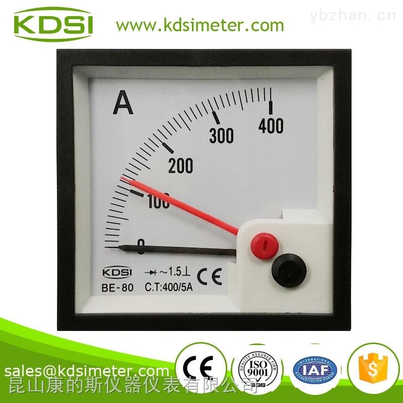 be-80-双指针 指针式交流电流表