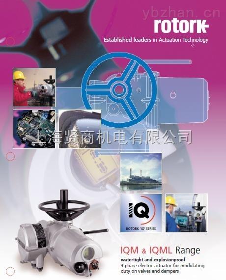 rotork电动执行器iqm系列调节型