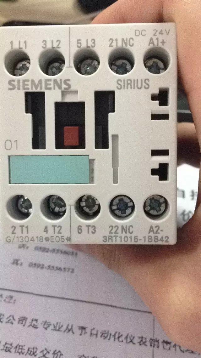铁路专用3RT1015-2KB42 接触器