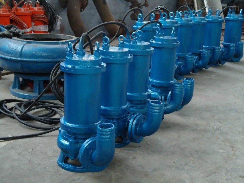 WQ-切割攪拌排污泵、污水泵、泥漿泵