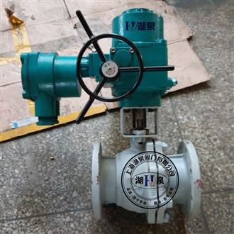 矿用电动铸钢球阀