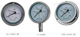 化工用不锈钢压力表