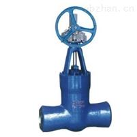 法兰齿轮传动焊接式闸阀
