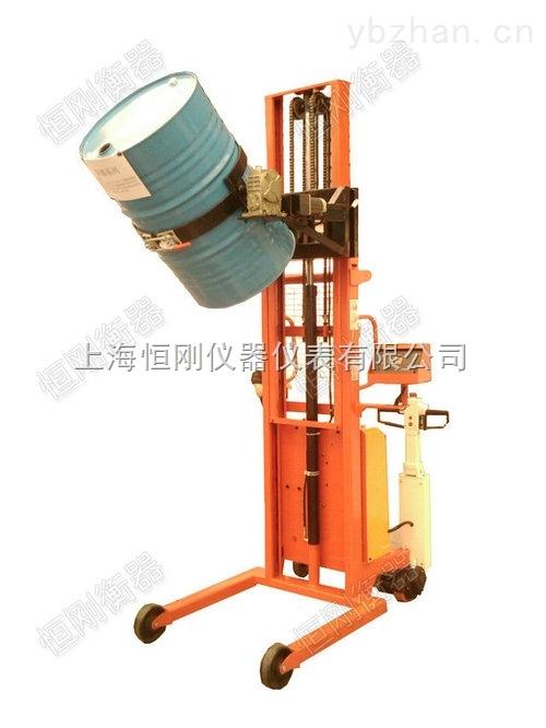 300公斤勾式手动抱桶秤 手动提升电子抱桶称