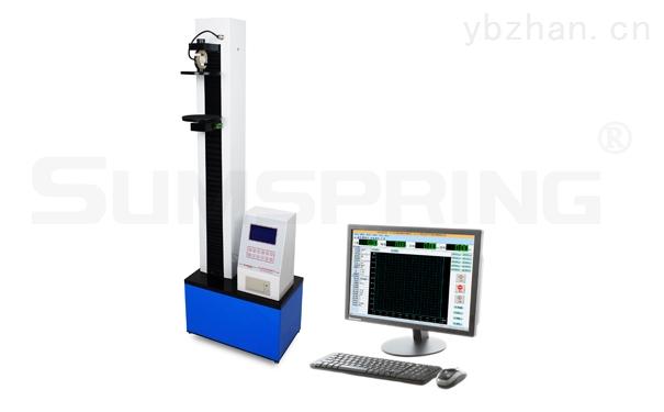 检测果冻杯盖膜剥离开启力用LS-07PC电子拉力试验机
