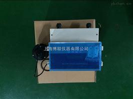 LMZ-1001安装于巴歇尔槽的超声波明渠流量计