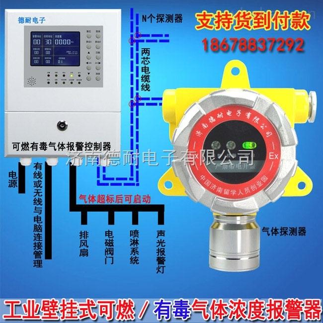壁挂式液体挥发泄漏报警器,气体探测仪气体泄漏报警后如何处理