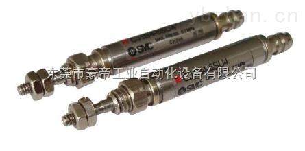 SMC针形气缸,自由安装气缸 CDU25*5/10/15/20/25/30/40/45/50/60 70 80 90 100