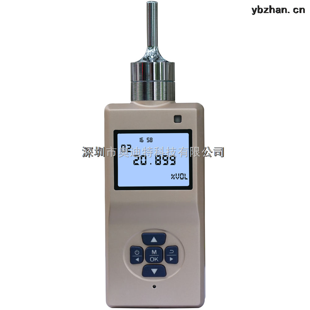 奥迪特泵吸式氧气检测仪