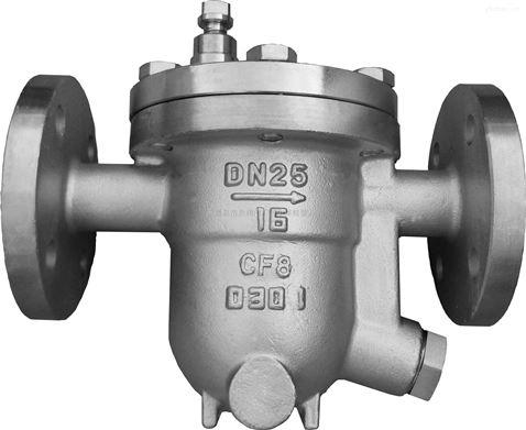cs41w-16p-cs41w-16p 不锈钢自由浮球式蒸汽疏水阀门dn15 20 25 32 40图片