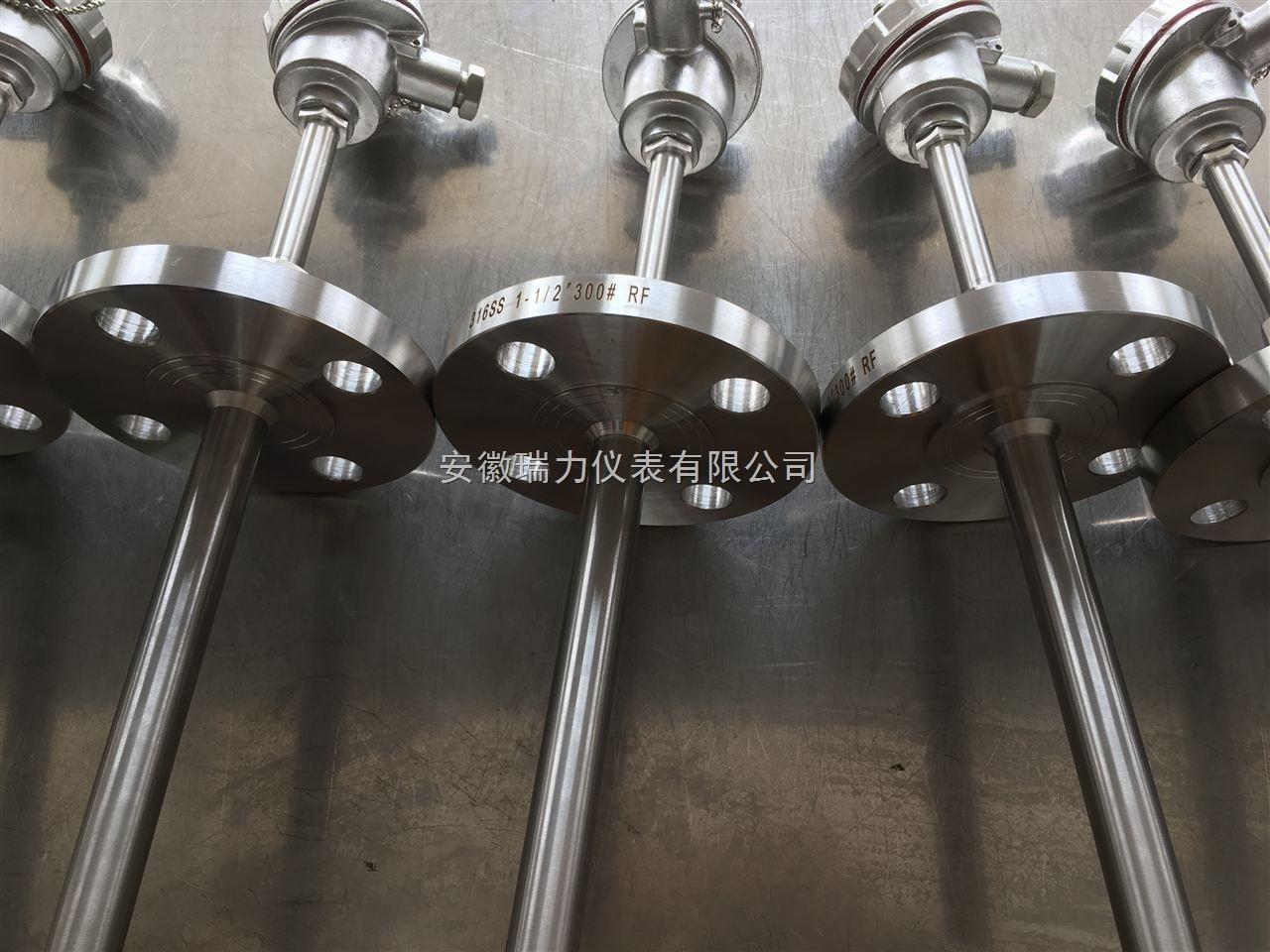 高温铠装热电偶 K型热电偶 机械强度高