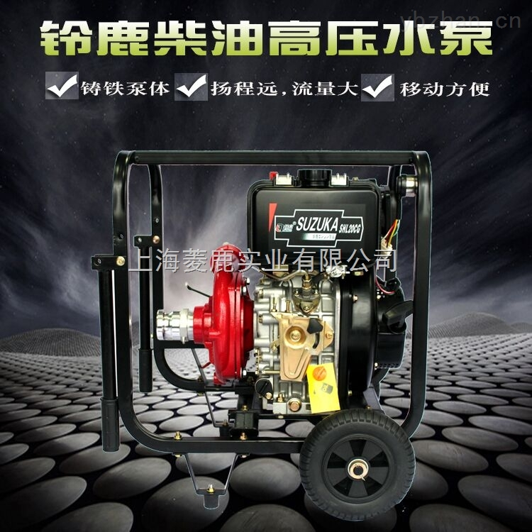 上海铸铁离心泵柴油动力抽水机