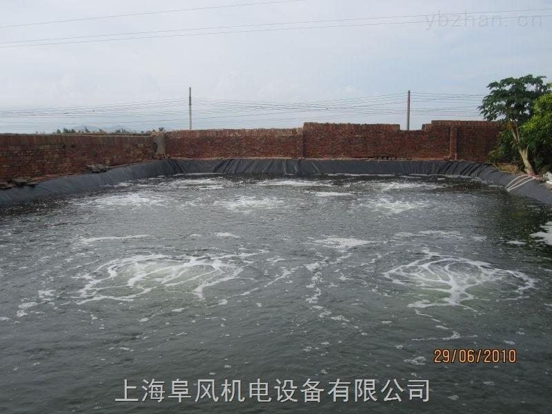 鱼塘曝气增氧风机