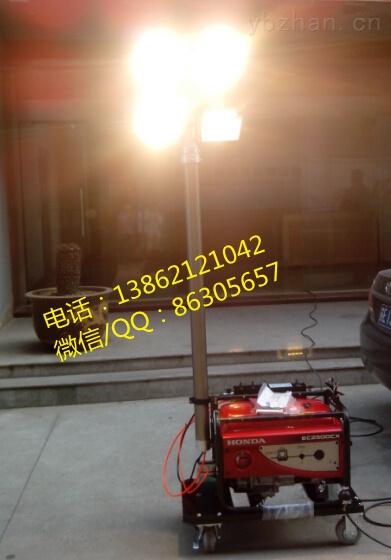 发电机带应急升降灯,发电机含应急灯组