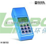 路博HI98703高精度浊度分析测定仪符合EPA浊度测量标准