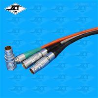 空中对接推拉自锁圆形航空插头 仪器浮动对插电源信号延长线连接器线缆焊接